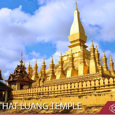 pha that luang temple laos