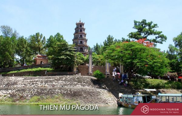 Thien Mu Pagoda in Hue Inperial Citadel