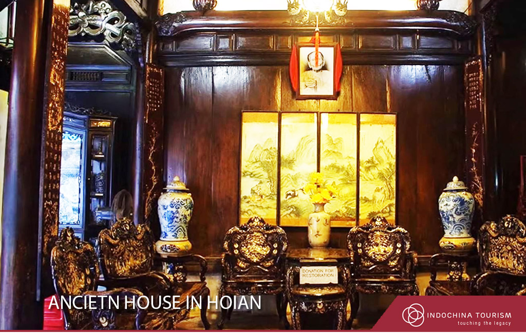 ancient house in hoian