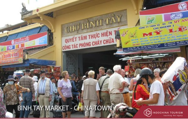 Binh Tay Market in China Town - Ho Chi Minh City