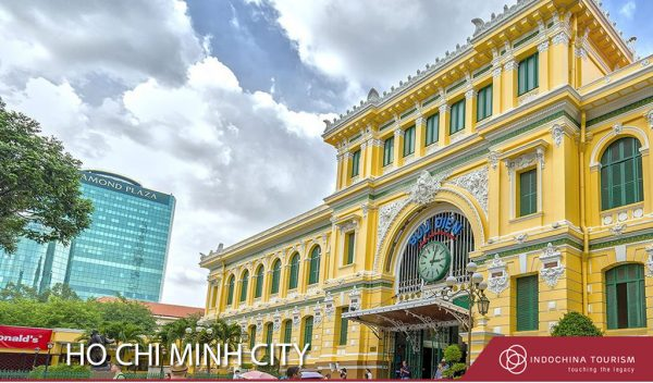 Old post office in Ho Chi Minh City