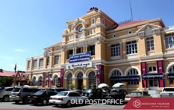 Old Post Office in Phnom Penh