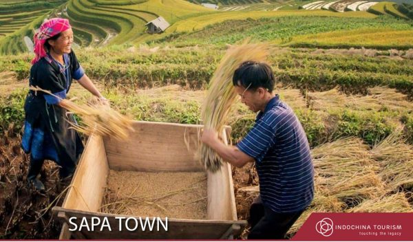 Sapa Town in the North of Vietnam